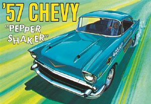"""1:25 Scale '57 Chevy """"Pepper Shaker"""" - AMT1079"""