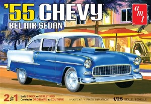 1:25 Scale 1955 Chevy Bel Air Sedan - AMT1119