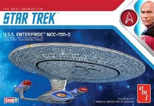 1:2500 Scale Star Trek USS Enterprise-D Snap Kit - AMT1126