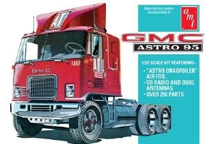 1:25 Scale GMC Astro 95 Semi Tractor - AMT1140