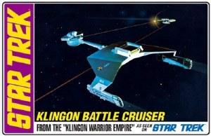 1:650 Scale Klingon Battle Cruiser - AMT720