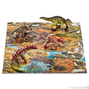 Mini Dinosaurs With Marshland Puzzle - 42331
