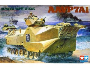 1:35 Scale US Marine AAVP7A1 w/UGWS - T35159
