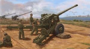 1:35 Scale PLA Type 59 130mm Towed Field Gun - 02335