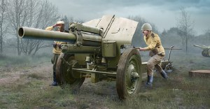 1:35 Scale Soviet 122mm Howitzer 1938 M-30 (Late Version) - 02344