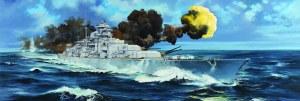 "1:200 Scale German ""Bismarck"" Battleship - TR03702"