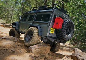 1:10 TRX-4 Land Rover Defender - 82056-4SIL