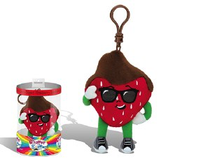 Danny Dipperelli Chocolate Dipped Strawberry Scented Backpack Clip