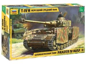 1:35 Scale German Medium Tank Panzer IV AUSF.H - 3620