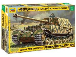 """1:35 Scale German Tank Destroyer """"Ferdinand"""" SD.KFZ. 184 - 3653"""