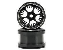 2.2 Beadlock Wheels Black - AX08061