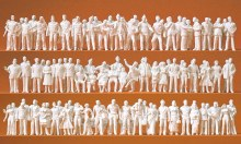 HO Gauge Standing Figures Set x 24 - 1-0241