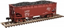 N Scale 2 Bay Offset Hopper w/Load Milwaukee Road #96004 - 50003111