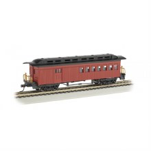 HO Gauge 1860-1880 Combine Painted Red & Unlettered - 13502