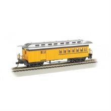 HO Gauge 1860-1880 Combine Painted Yellow & Unlettered - 13503