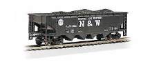 HO Scale 40' Quad Hopper Norfolk & Western #12986 - 17607
