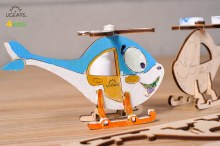 4Kids 3D Coloring Model Helicopter