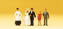 HO Gauge Catholic Wedding - 14058