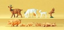 HO Gauge Goats & Pigs - 14162