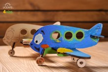 4Kids 3D Coloring Model Airplane