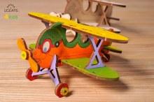 4Kids 3D Coloring Model Biplane