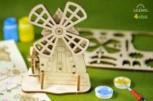 4Kids 3D Coloring Model Windmill
