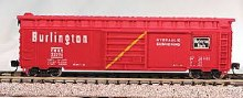 N Gauge 50' Panel Boxcar Chicago, Burlington, & Quincy #1 - 223-8903