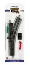 HO Gauge E-Z Track Remote Turnout Right - 44562
