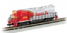 N Gauge Santa Fe GP50 Diesel Locomotive - 61252