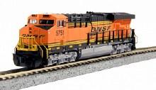 N Scale GE ES44AC BSNF #5873 DCC Ready - 1768930