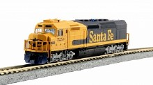 N Scale EMD SDP40F Type IVa, AT&SF #5250 DCC Ready - 1769211