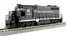 HO Scale EMD GP35 Phase Ia - New York Central #6125 DCC Ready - 373023