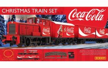 OO Gauge The Coca-Cola Christmas Train Set - R1233