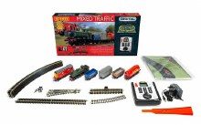 OO Scale Mixed Freight Train Set DCC Fitted - R1236