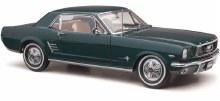 1:18 Scale 1966 Pony Mustang Nightmist Blue - 18702