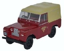 1:43 Scale Land Rover Series II SWB Canvas British Railways - 43LR2S002