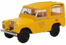 1:43 Scale Land Rover Series II SWB Hard Top Post Office Telephone - 43LR2S004