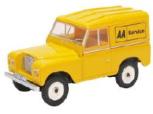 1:43 Scale Land Rover Series III Swb Hard Top AA - LR3S002