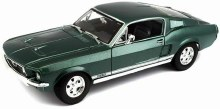 1:18 Scale 1967 Ford Mustang GTA Fastback Green - 31166