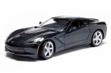 1:18 Scale 2014 Chevrolet Corvette Stingray C7 Blue - 31182