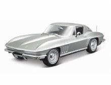 1:18 Scale 1965 Chevrolet Corvette, Silver - 31640