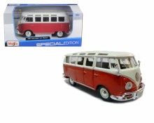 1:24 Scale Volkswagen Van Samba Bus VW - 4521956