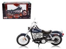 1:12 Scale 2006 Harley Davidson FXDBI Dyna Street Bob Bike - 46032325