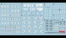 1:35 Scale SPS-003 Tactical Markings For Merkava MK.3D/BAZ - 550319