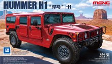1:24 Scale CS-002 Hummer H1 Off-Road Vehicle - 551118