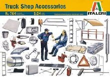 1:24 Scale Truck Shop Accessories - 51-0764S
