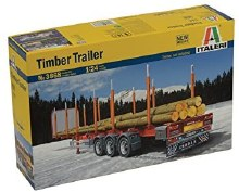 1:24 Scale Timber Trailer - 3868