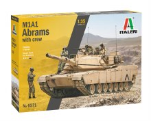 1:35 M1A2 Abrams with crew - 6571