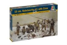 1:72 Scale 15 cm. Nebelwerfer 41 w/Crew - 7071