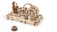 Pneumatic Engine 3D Wooden Kit